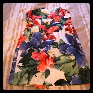 Tropical Floral Dress!